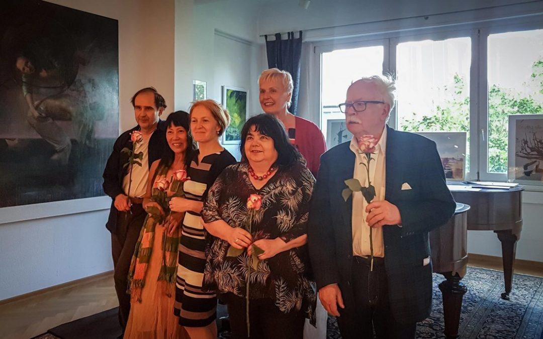 27.05.2019 – VERNISSAGE and CONCERT: Anniversary Exhibition – The music studio celebrates the 10th anniversary / concert by the Glinka Trio