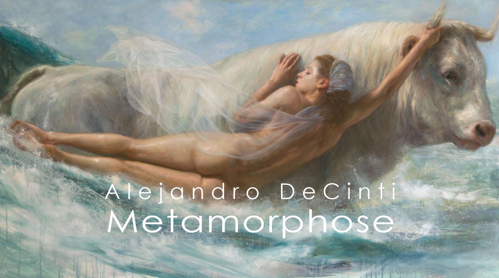 """Titelbild der Ausstellung """"Metamorphose"""" von Alejandro DeCinti"""