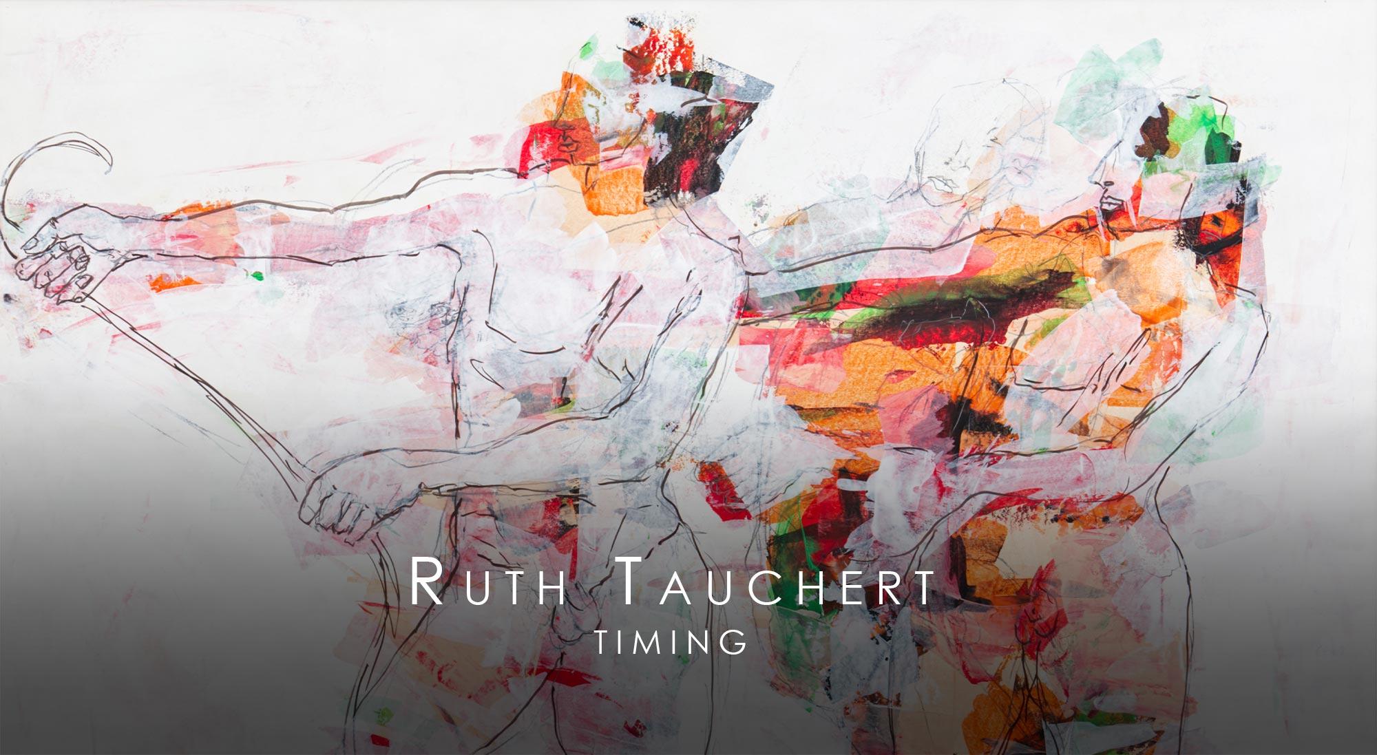 """Titelbild zu der Ausstellung """"Timing"""" von Ruth Tauchert"""